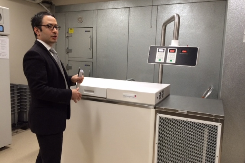 Controversial plasma collection centre opens in Saskatoon