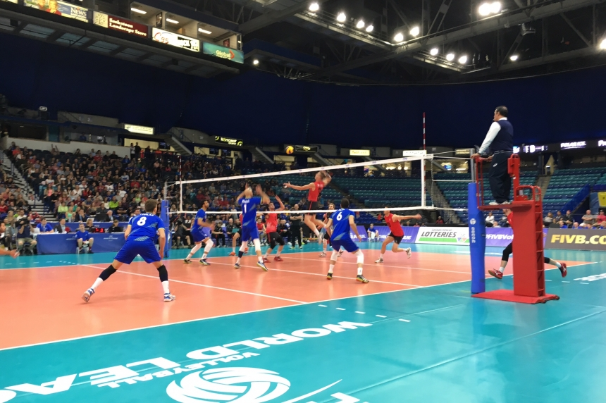 Canada 6-0 in World Volleyball