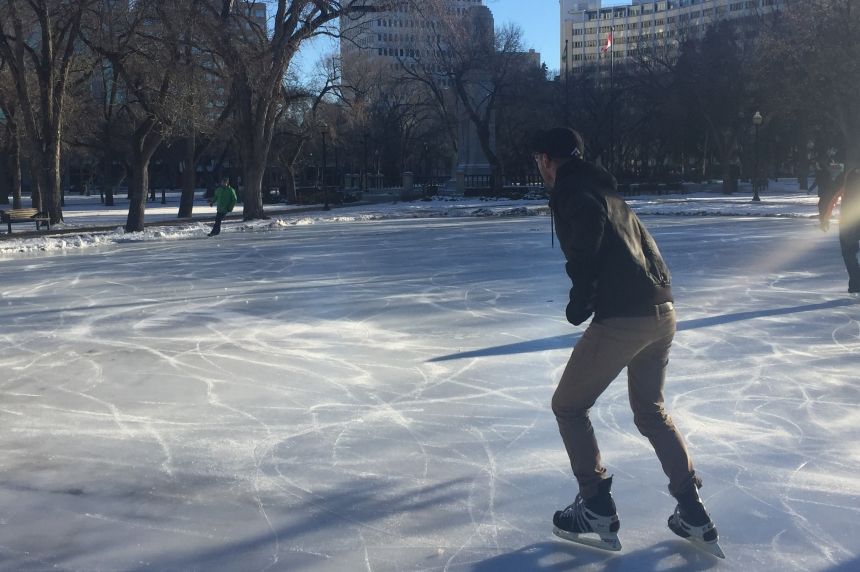 Victoria Park skating rink opens in Regina for the season