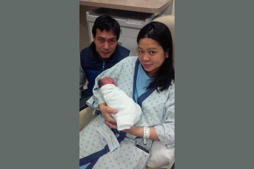 New Year's baby arrives in Regina