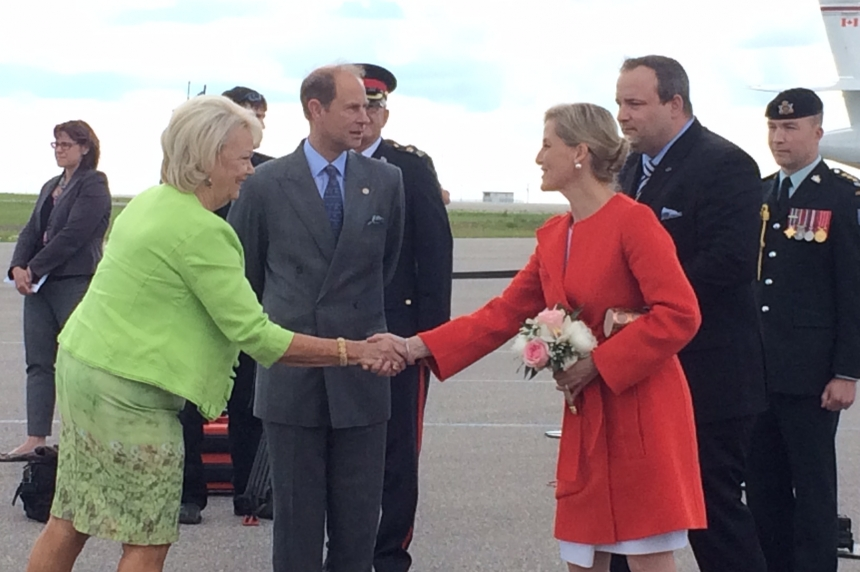 Theatre celebrated as Prince Edward, wife Sophie continue visit in Regina