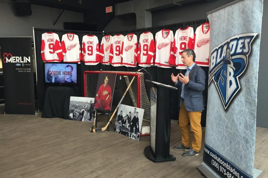 Saskatoon Blades to honour Gordie Howe