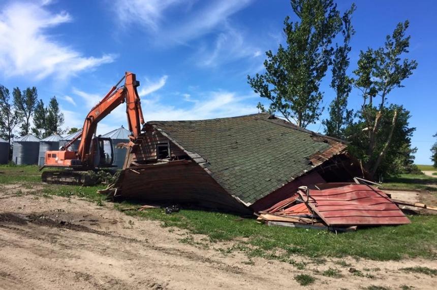 Davidson area family picks up pieces after tornado destroys farm