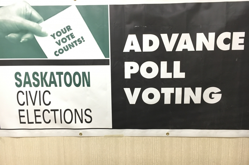 Advance polls open in Saskatoon ahead of Oct. 26 election