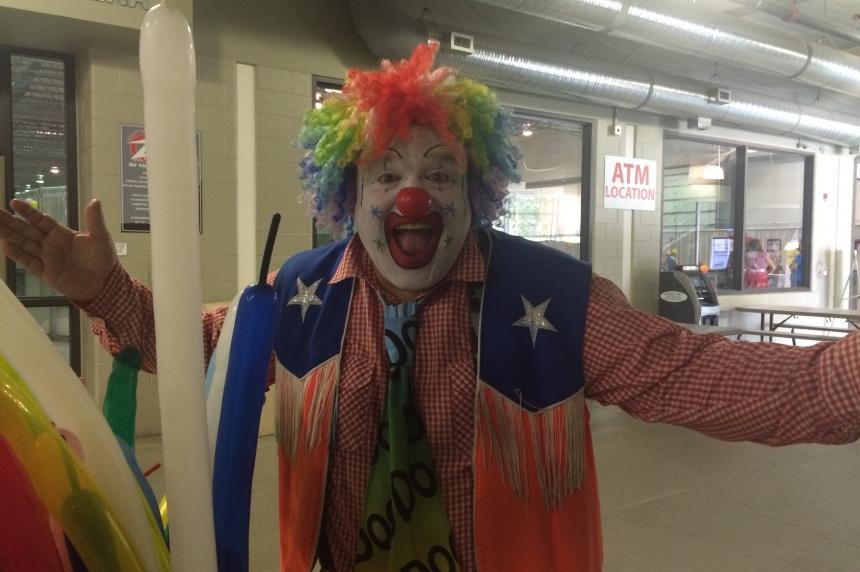 Doo Doo the Clown makes debut at Queen City Ex
