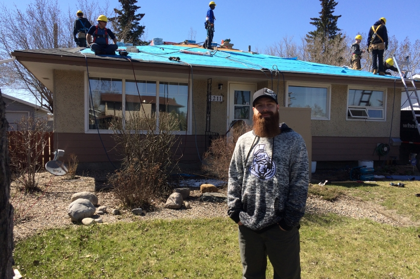 'Absolute miracle:' Regina family gifted new roof