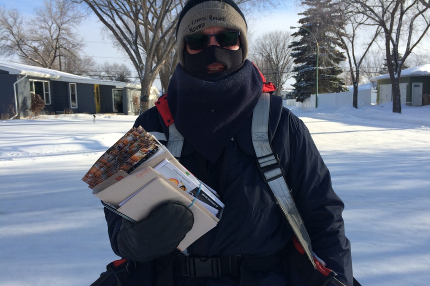 Work doesn't stop despite cold temperatures
