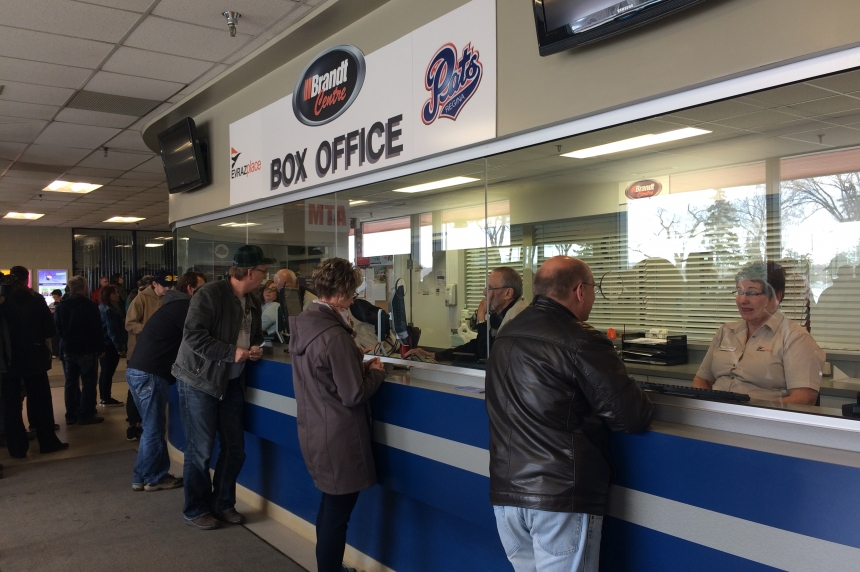 Pats games sold out as fans line up at the box office