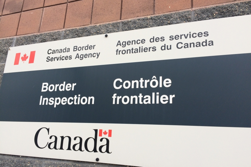 Human smuggling charge laid at U.S. border