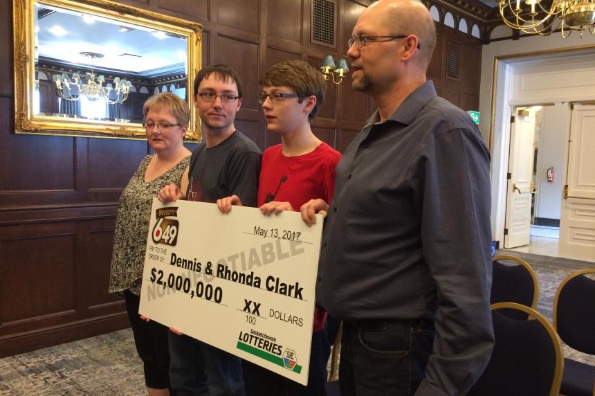 Hudson Bay couple wins $2M lotto prize