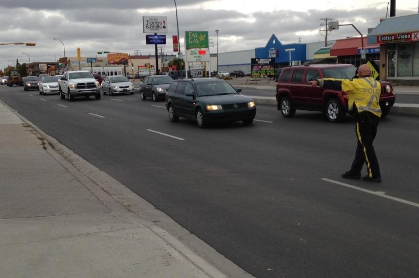 263 speeding tickets handed out Regina traffic blitz