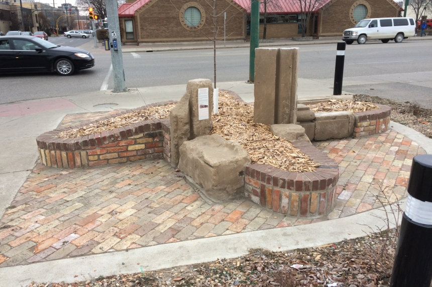 Bricks from Connaught School mark new entrance to Cathedral neighbourhood