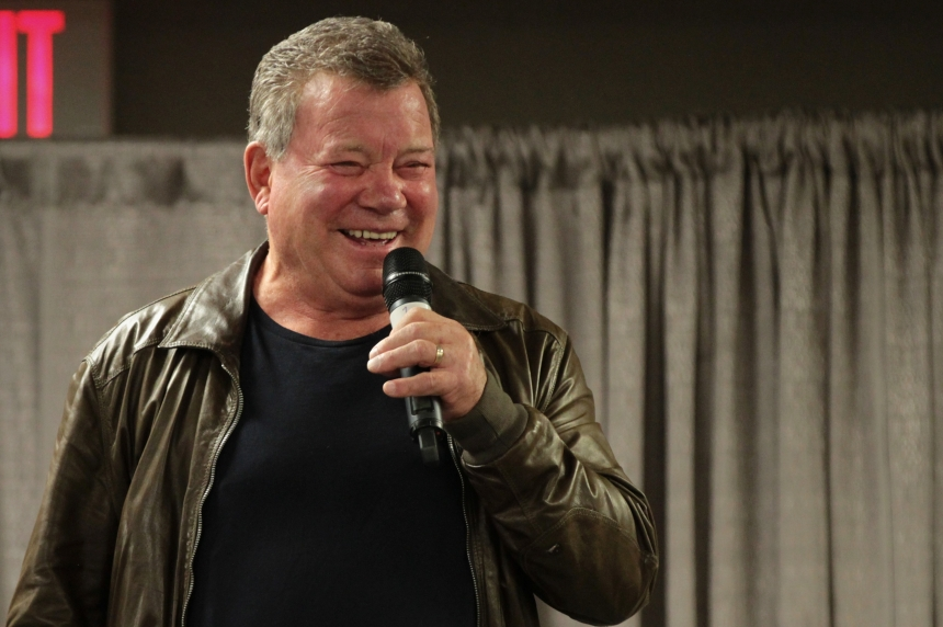 William Shatner brings laughs to Saskatoon Comic Expo