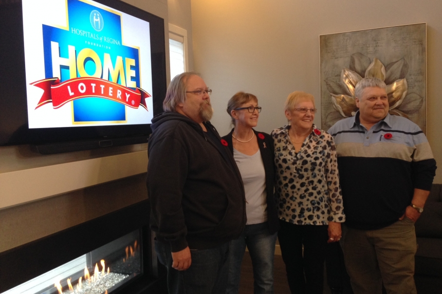Deserving winners in 2015 Hospitals of Regina fall home lottery