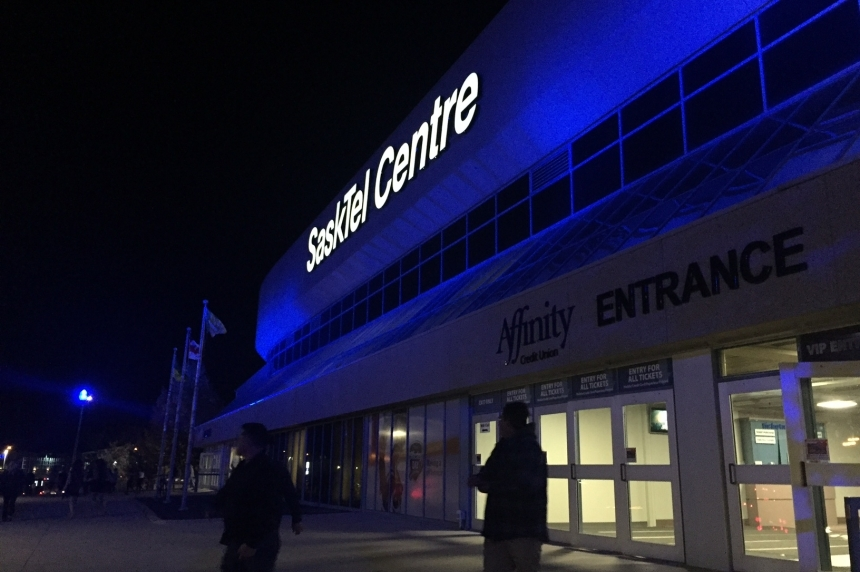 Rush game prompts traffic advisory from SaskTel Centre