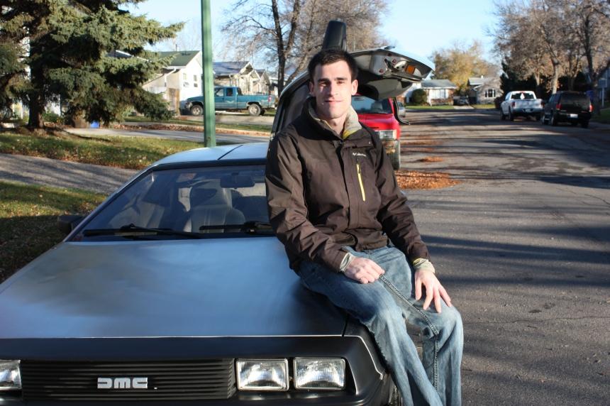 'Back to the Future' fan turns heads on Regina roads