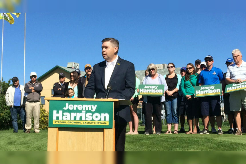 Jeremy Harrison announces bid for Sask. Party leadership