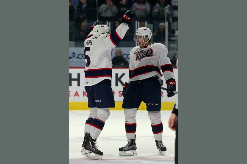 Regina Pats find a way to win late, beat Moose Jaw 4-3