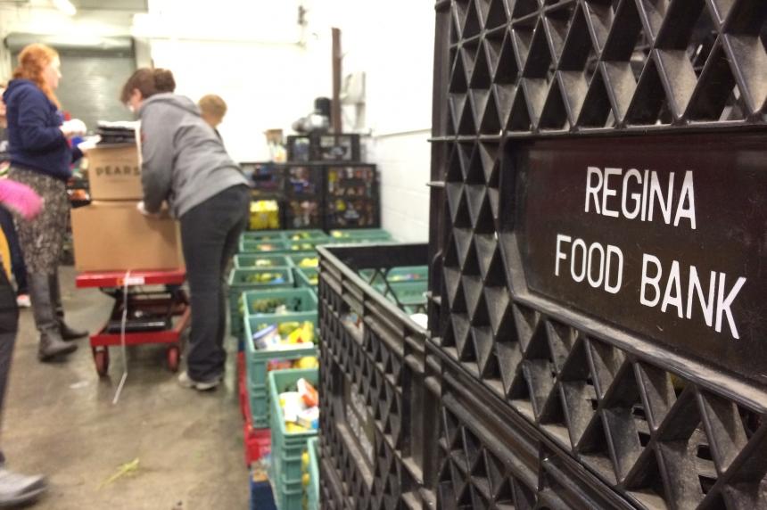 Martel on the Move: volunteering at the Regina Food Bank