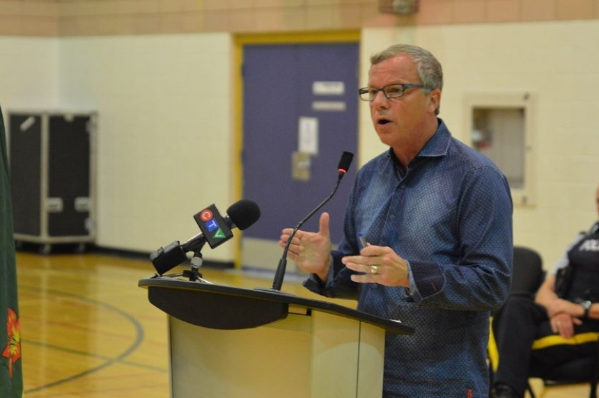 Premier Brad Wall promises major dollars for La Loche students