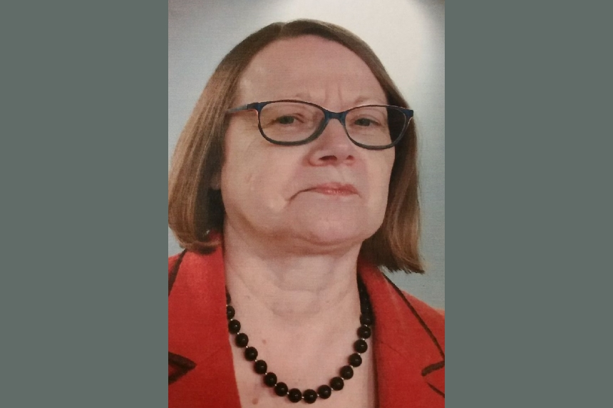 Missing Saskatoon woman, 61, might be near Borden, Sask.