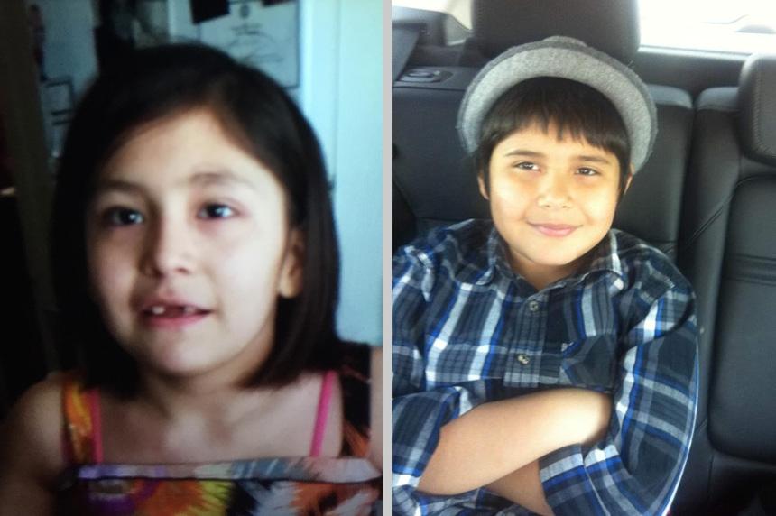 2 missing children last seen on Regina's Elphinstone Street