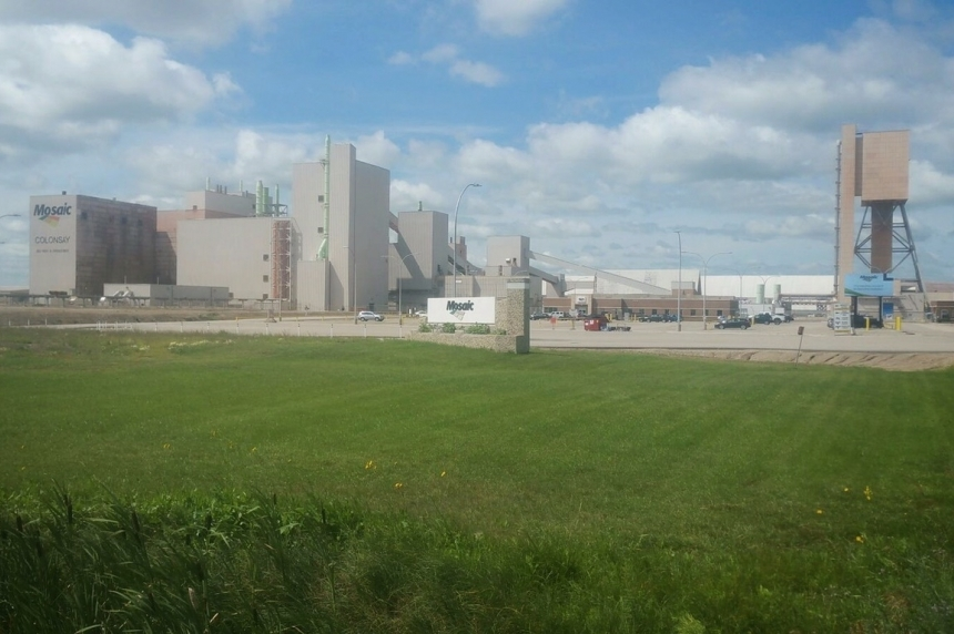 Mosaic potash mine in Colonsay brings back 330 workers