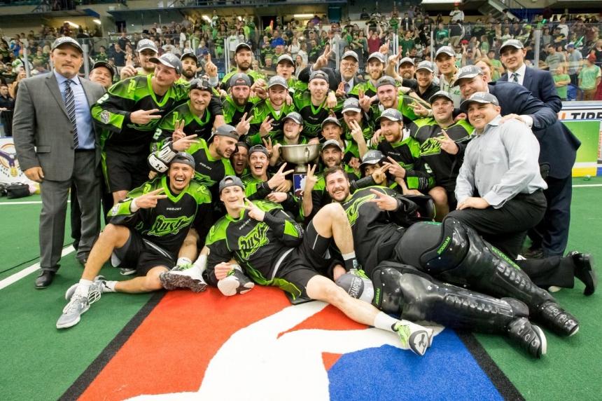 Saskatchewan Rush win back-to-back NLL Championships