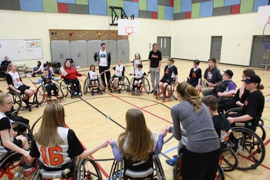 Wheelchair basketball club starts GoFundMe in wake of theft