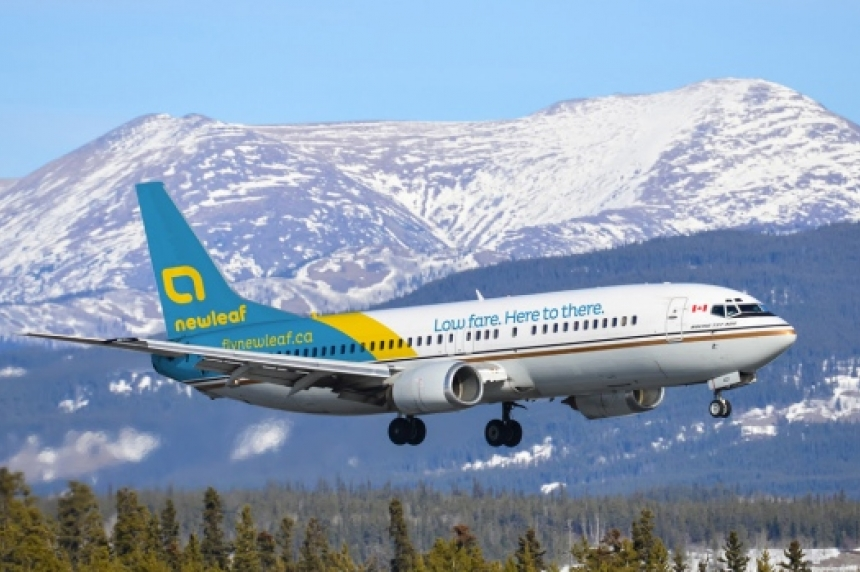 NewLeaf launches bookings for discount flights to 12 Canadian cities