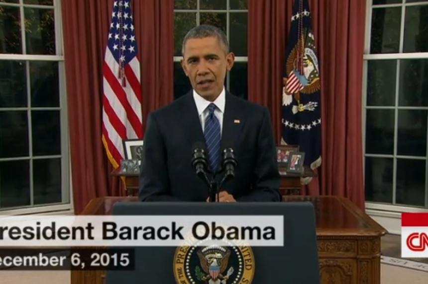 Obama gives historic address on terrorism