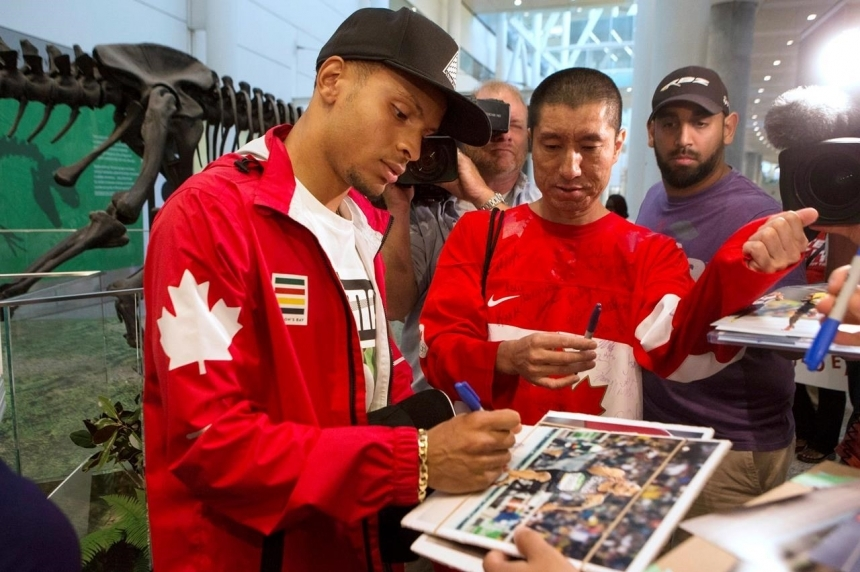 More Olympic athletes back on home soil