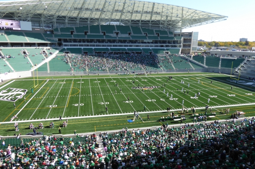 Rams win over Huskies at new Mosaic Stadium debut