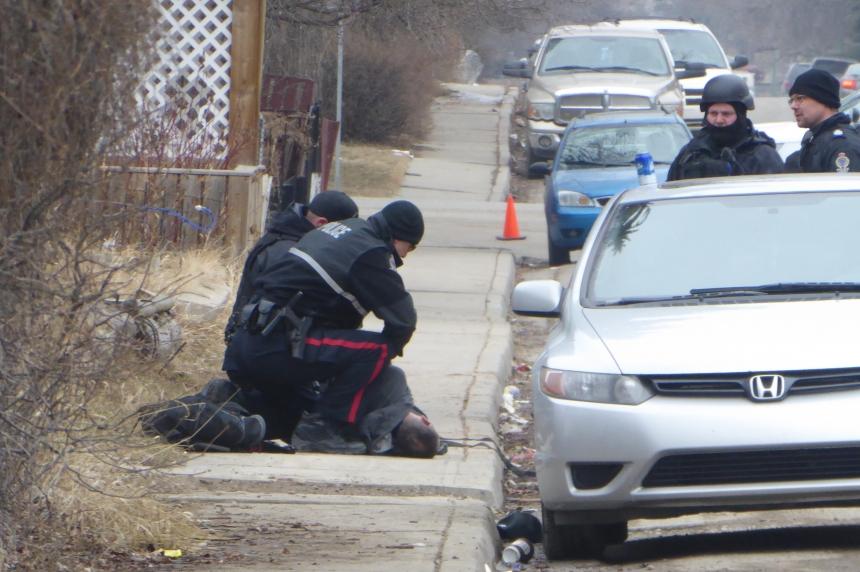 Police find gun after North Central standoff, 1 man arrested