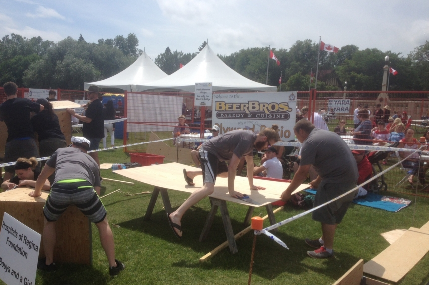 Plywood cup brings out big crowds at Wascana