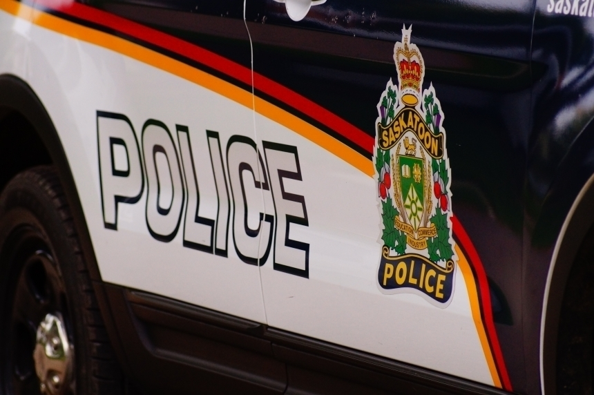 Driver facing charges after crash on a front lawn in Saskatoon