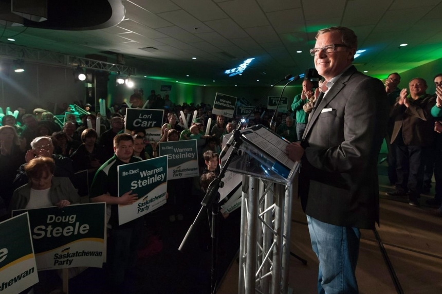 Sask. Party ready to work as Wall welcomes new MLAs