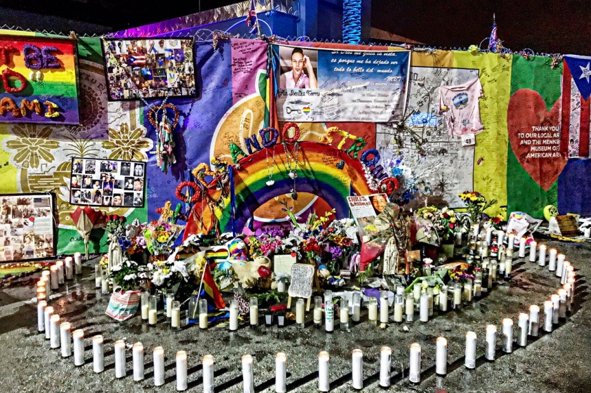 Memorials 1 year after Pulse Nightclub shooting