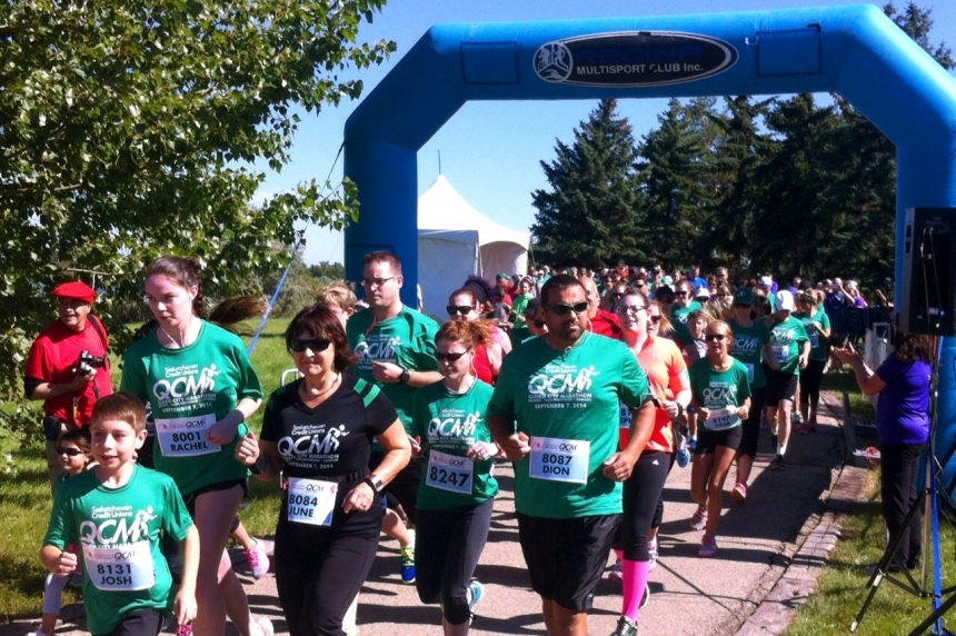 Queen City Marathon impacting traffic on weekend