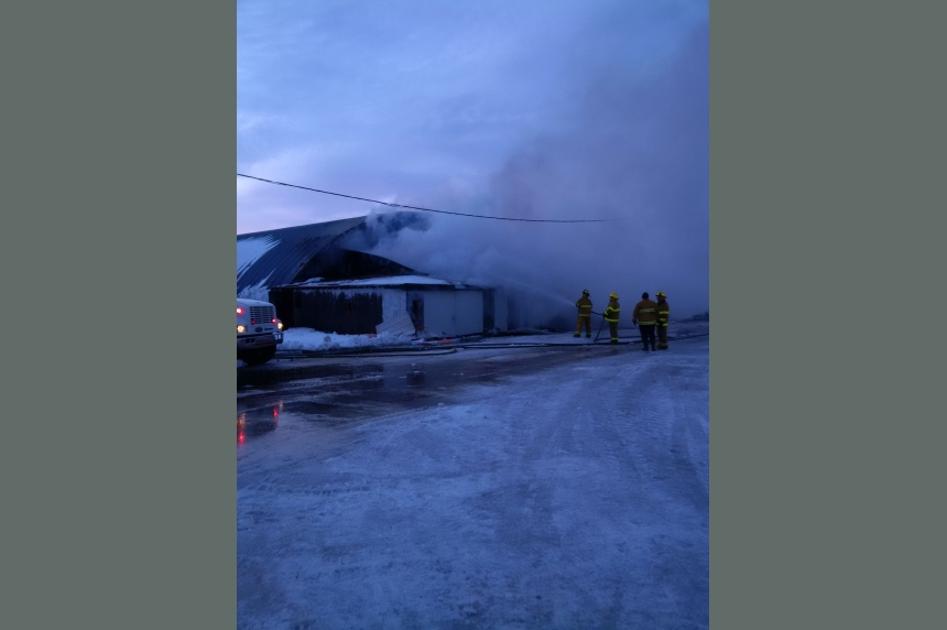 Rama fire destroys horse training facility