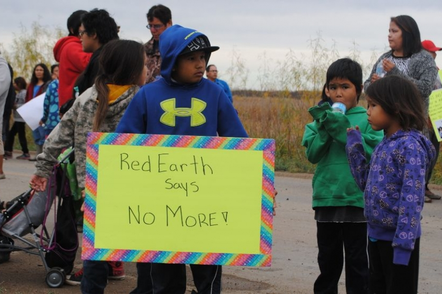 Red Earth First Nation goes drug and alcohol free