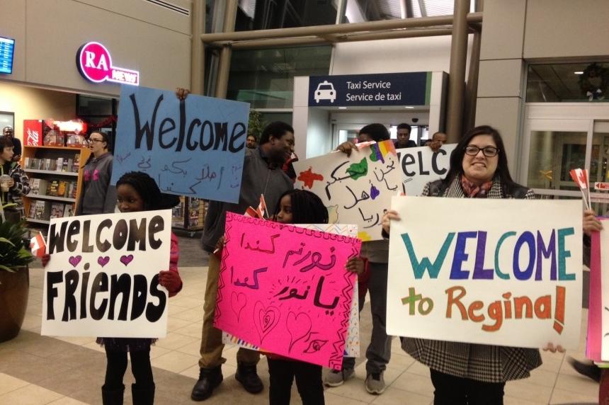 100 Syrian refugees arrive in Regina Friday