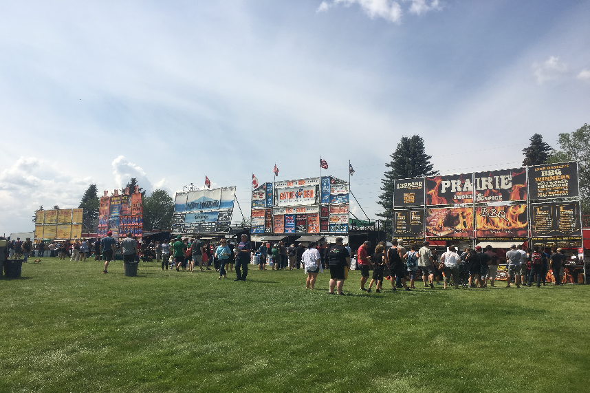 Local BBQ champ turned hobby into Ribfest success