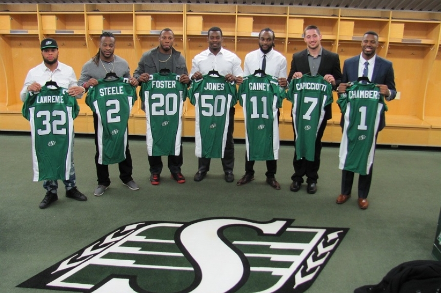 In Jones they trust: new Roughriders signed up to work with Chris Jones