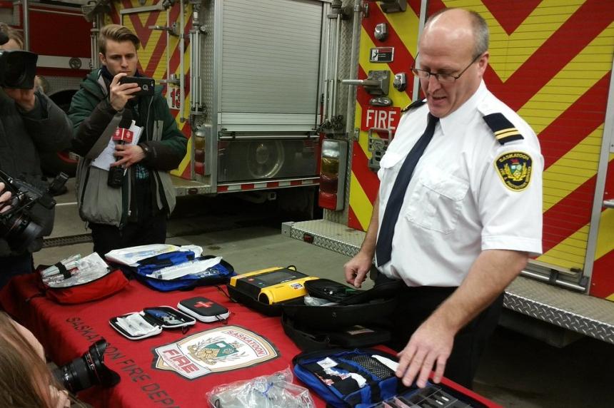 Saskatoon Fire Department prepares for opioid crisis