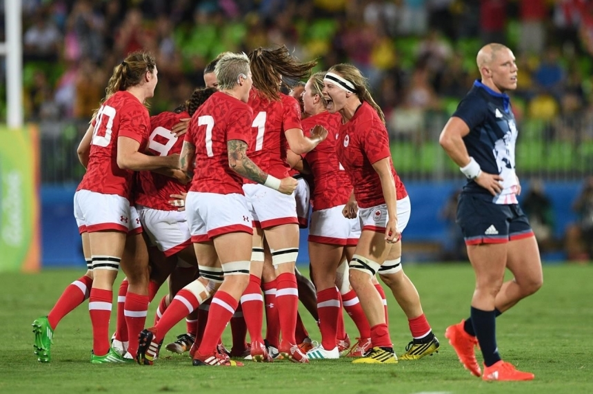 Canada downs Britain to capture women's rugby sevens bronze medal