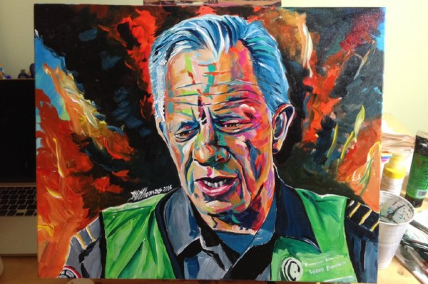 Fort McMurray artist's portait to raise funds for community support