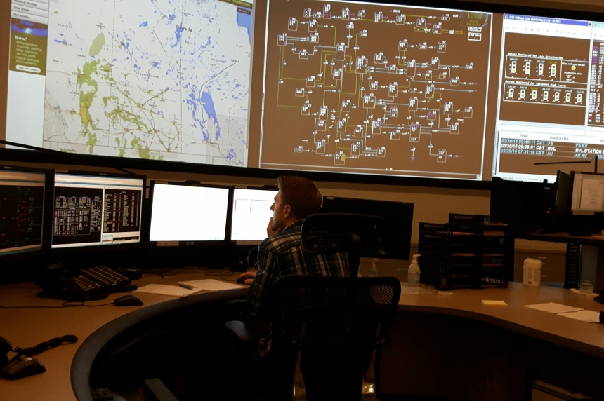Take a look inside SaskPower's secret grid control centre