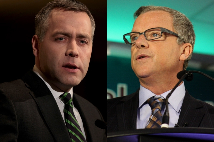 Sask. political leaders talk education, records during Easter weekend campaign stop