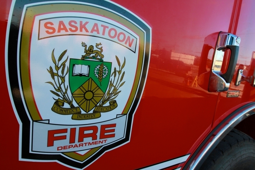 One person rescued after an SUV rollover Sunday in Saskatoon